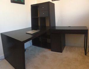 Desks (L-shape Desk or separate!) for Sale in Arlington, VA