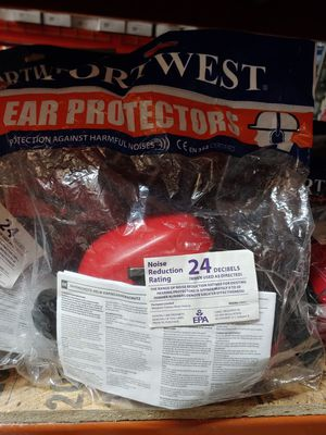 Portwest PW47 Clip On Ear Muffs for Sale in Beaumont, TX
