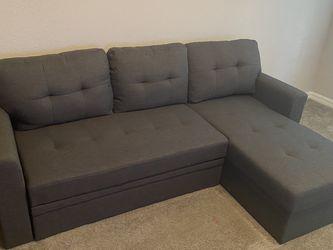 BrandNew Grey Sleeper Sectional for Sale in Orlando,  FL