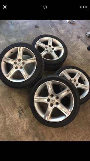 Rare staggered Lexus sportcross wheels for Sale in Millersville, MD