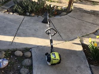 Ryobi 4 Cycle Weed Trimmer No Mixing Gas Only Works Great for Sale in Stockton,  CA