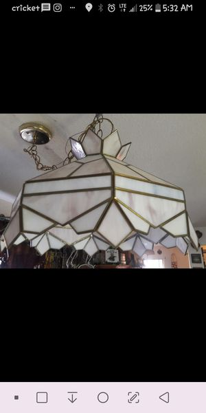 Stainglass hanging light for Sale in Mesa, AZ