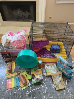 Hamster (small pet) cage & supplies for Sale in Atlanta, GA