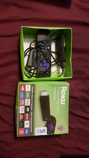 Roku stick 4k for Sale in Houston, TX