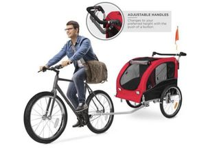 2 in 1 Pet Dog Bike Trailer Bicycle Stroller for Sale in Queens, NY