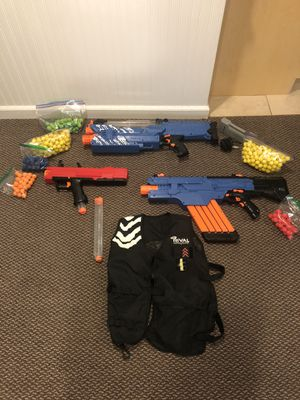 Arsenal of Nerf Rival Guns for Sale in Garden City, NY