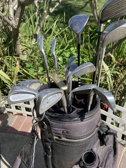 Golf clubs and bag for Sale in Buena Park,  CA