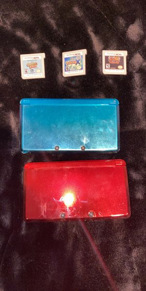 Nintendo 3ds' with games for Sale in Marietta, GA