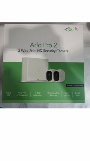 Arlo pro 2 cameras system 1080HD. Included 2 cameras and all accessories for Sale in Orlando, FL