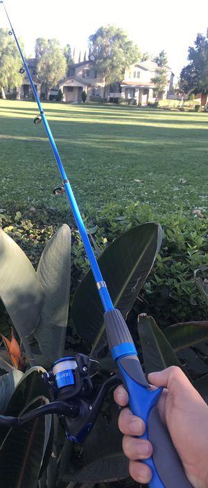 Brand NEW BLUE Super Hard Carbon Fiber Adjustable Fishing Rod for Sale in Riverside, CA