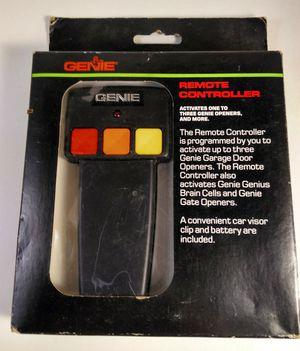 Genie Remote Controller Garage Door Remote for Sale in Vallejo, CA