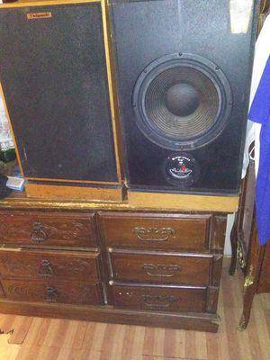 Klipsch kg 4 speakers for Sale in Lakeside, TX