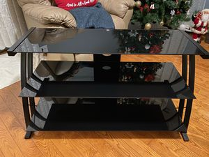 Glass TV stand for Sale in Macomb, MI