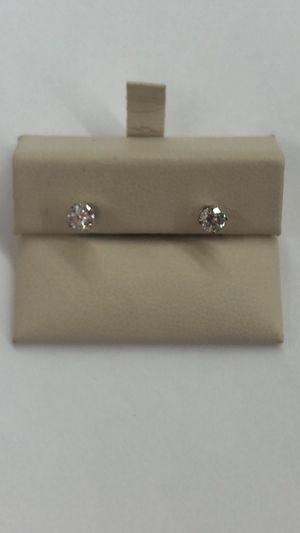 14KT WG Stud Earrings for Sale in Dallas, TX