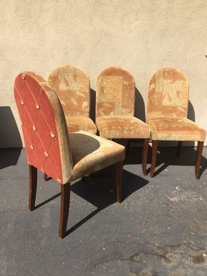 Four Dining Chairs for Sale in Riverside, CA