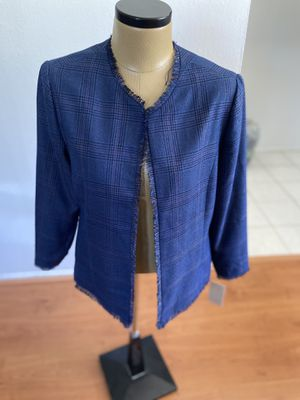 Sejour Plaid Tweed Jacket for Sale in San Dimas, CA