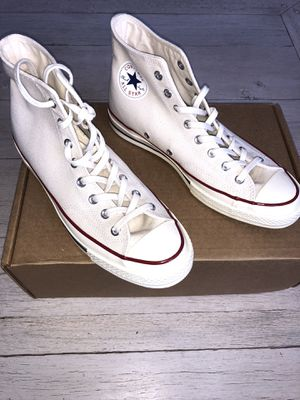 Men's size 9 1/2 converse. Runs 1/2 size big like a 10. $80 (PRICE IS FIRM) for Sale in Castro Valley, CA