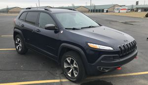 2014 Jeep Cherokee Trailhawk Sport Utility 4WD for Sale in Fairland, IN