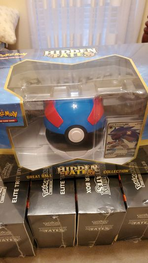 Pokemon Hidden Fates Great Ball Collection for Sale in Brandon, FL
