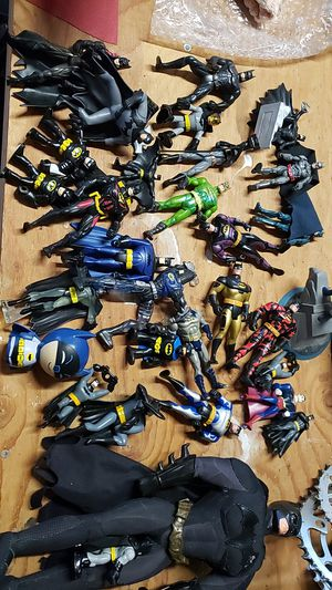 Batman action figure lot old and new lot collection for Sale in Tacoma, WA