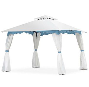 Patio Gazebo Canopy Tent with Side Walls for Sale in Plano, TX