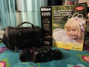 Nikon D3300 for Sale in Huntington Beach, CA