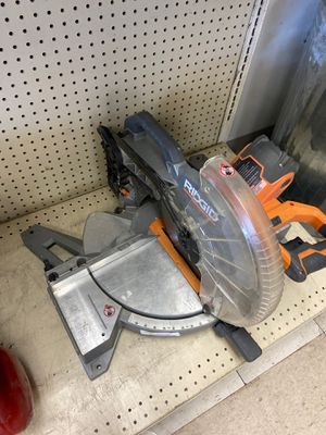 Ridgid miter saw for Sale in Austin, TX