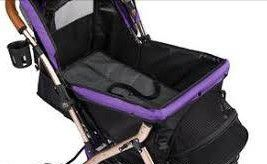 HPZ™ PET ROVER XL Extra-Long Premium Stroller for Small/Medium/Large Dogs, Cats and Pets (Purple) for Sale in Las Vegas, NV