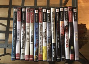 Ps2 game bundle for Sale in Richmond, VA