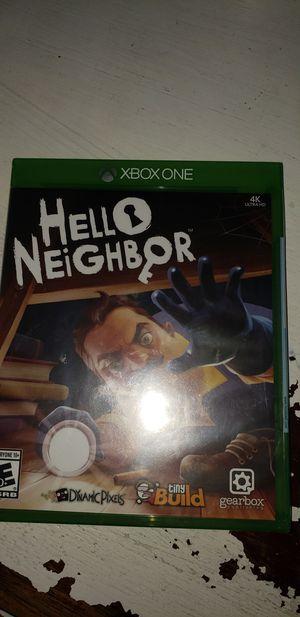 Hello neighbor xbox one brand new for Sale in Santa Monica, CA