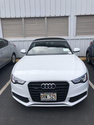 2016 Audi A5 Premium Plus Convertible for Sale in Honolulu, HI