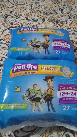 Huggies pull ups for Sale in Duquesne, PA
