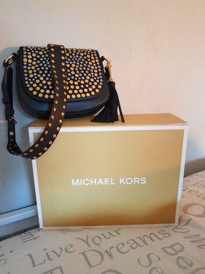 Michael Kors NWT Black Leather, Shoulder bag for Sale in Haines City, FL