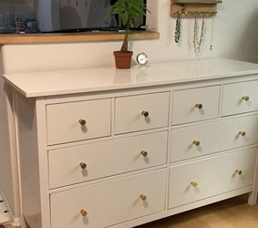IKEA White Hemnes 8 Drawer Dresser for Sale in Mountlake Terrace,  WA