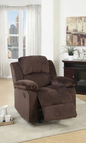 🔥Fathers Day Sale🔥 Chocolate Rocker Recliner for Sale in Hialeah, FL