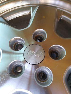 Jeep 16 inch wheels rims with tires for Sale in Los Nietos, CA