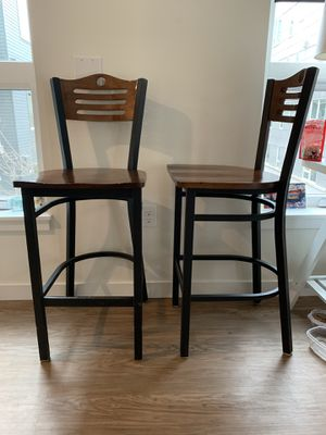 Set of 2 Bar Stool Kitchen Island Chairs Stools for Sale in Seattle, WA