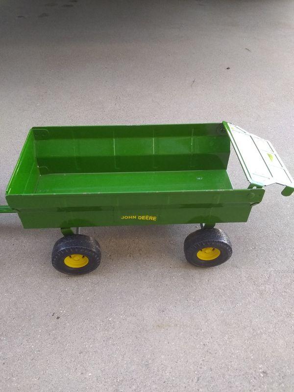 Diecast metal John Deere tractor