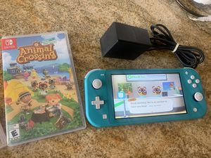 Nintendo switch lite with animal crossing for Sale in Ontario, CA