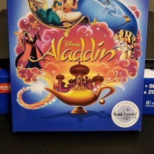 Brand New Disney Aladdin 4k Ultra HD disc and Blu-Ray disc for Sale in Mount Prospect, IL