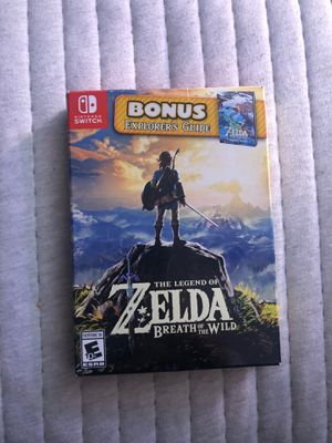 The Legend of Zelda - Breath of the Wild for Sale in Gaithersburg, MD