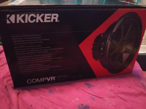 2 12inch kicker subwoofers compvr for Sale in Richmond, CA