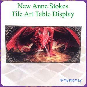 NEW Anne Stokes DRAGON LAIR Collectible Ceramic Tile Art for Sale in Chula Vista, CA