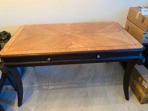 Desk & 2 vertical drawer for Sale in Marietta, GA