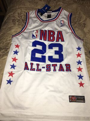 Micheal Jordan jersey all star large new for Sale in Denver, CO