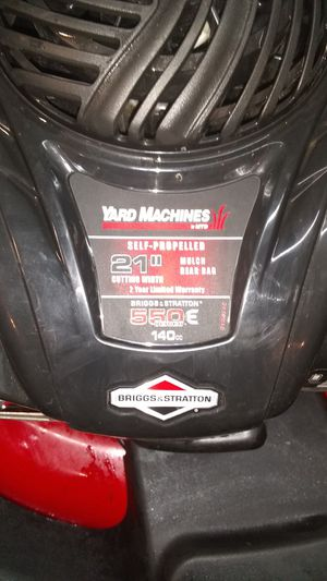 Brings and Stratton lawn mower for Sale in Shingle Springs, CA