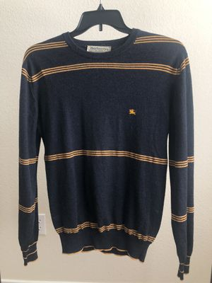 Men's vintage Burberry sweater for Sale in Round Rock, TX