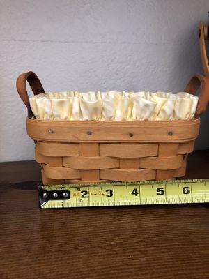 Longaberger Tea Basket for Sale in Moreno Valley, CA