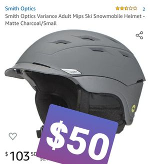 Smith Optics Camber MIPS Adult Ski Snowmobile Helmet - Matte Charcoal/Small , Casco for Sale in Pomona, CA