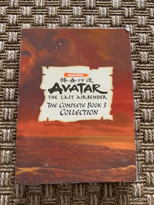 Avatar The Last Airbender The Complete Book 3 Collection (DVD, 2008, 5-Disc Set) for Sale in Carlsbad, CA